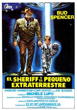 El sheriff y el pequeño extraterrestre