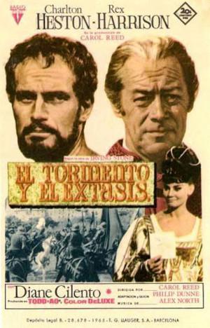 El tormento y el éxtasis (1965)