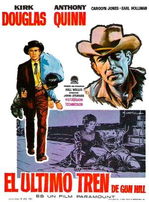 El último tren de Gun Hill (1959)