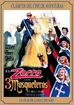 El Zorro y los 3 mosqueteros