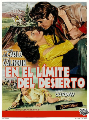 En el límite del desierto (1956)