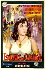 Esclavas de Cartago (1957)