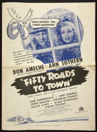 Fifty Roads to Town (1937)