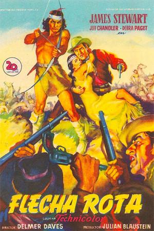 Flecha rota (1950)