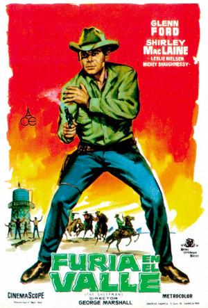 Furia en el valle (1958)