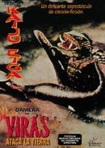 Gamera, en Viras ataca la Tierra (1968)