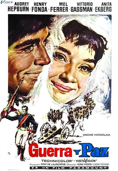 Guerra Y Paz 1956 Película 1956 Crítica Reparto Sinopsis Premios Decine21 Com