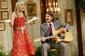 Miley se convierte en Hannah