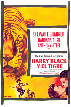 Harry Black y el tigre (1958)