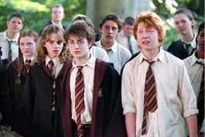 El adolescente Harry Potter