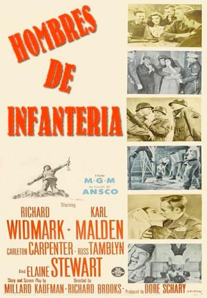 Hombres de infantería (1953)