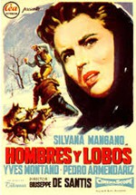 Hombres y lobos (1957)