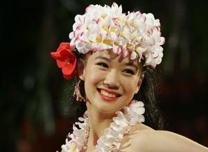 Japonesas y hawaianas