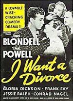 I Want a Divorce (1940)