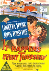 It Happens Every Thursday (1953)