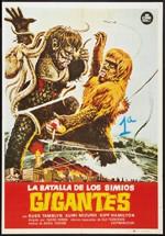 La batalla de los simios gigantes (1966)