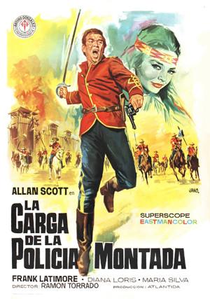 La carga de la policía montada (1964)