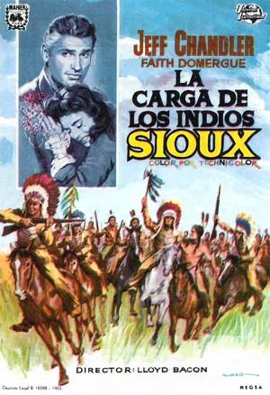 La carga de los indios Sioux (1953)