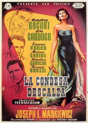 La condesa descalza (1954)