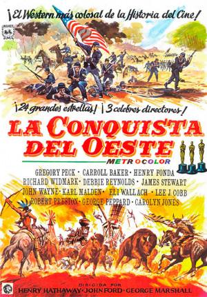 La conquista del Oeste (1962)