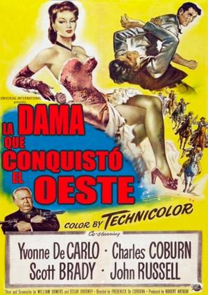La dama que conquistó el oeste (1949)