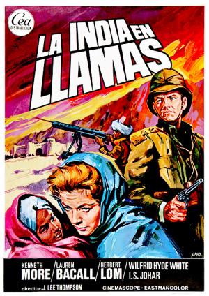 La India en llamas (1959)