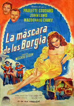 La máscara de los Borgia
