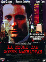 La noche cae sobre Manhattan