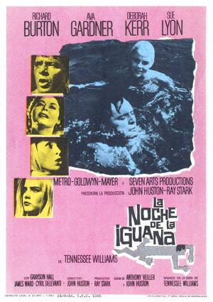 La noche de la iguana (1964)