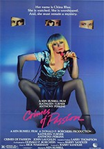 La pasión de China Blue (1984)