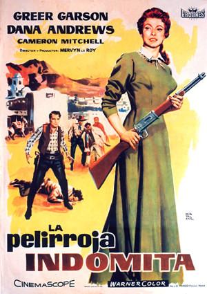 La pelirroja indómita (1955)