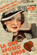 La que apostó su amor (1935)