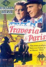 La travesía de París (1956)