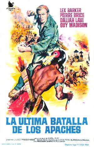 La última batalla de los apaches (1964)