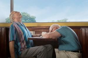 Los jubilatas se echan unas risas