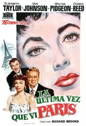La última vez que vi París (1954)
