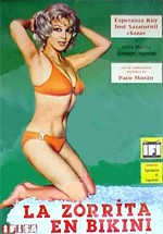 La zorrita en bikini