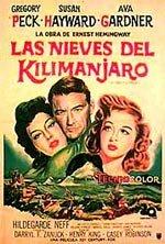 Las nieves del Kilimanjaro (1952)