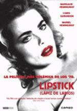Lipstick: lápiz de labios
