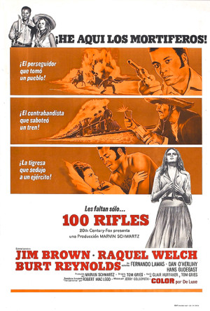 Los 100 rifles (1969)