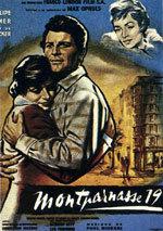 Los amantes de Montparnasse (1958)