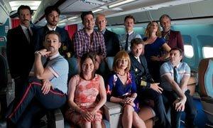 Locas en el avión