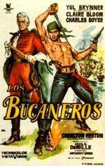 Los bucaneros (1958)