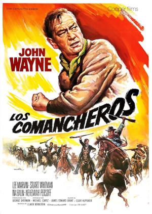 Los comancheros (1961)