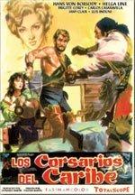 Los corsarios del Caribe (1961)