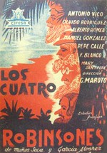 Los cuatro robinsones (1939)
