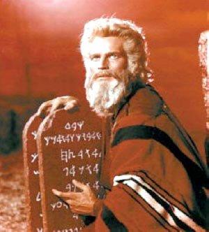 Moisés, custodio del Decálogo