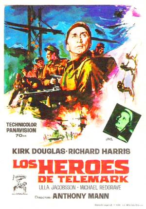 Los héroes de Telemark (1965)