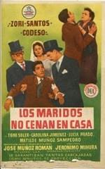 Los maridos no cenan en casa (1957)