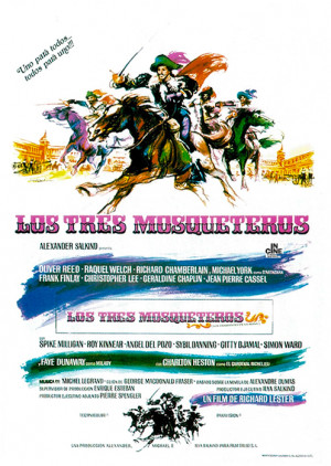 Los tres mosqueteros (1973)